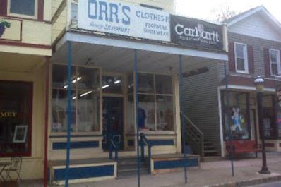 Orr's Clothes Storefront