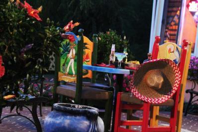 Riviera Maya Outdoor Seating