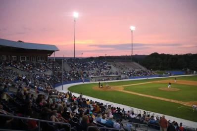 Skylands Stadium Sunset
