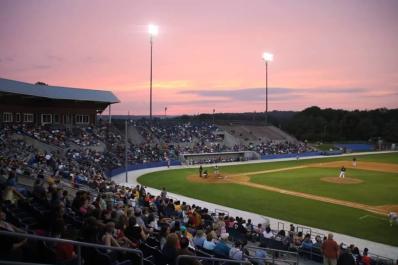 Skylands Stadium Sunset