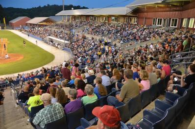 Skylands Stadium Crowd