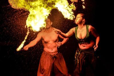 Sparta NJ Renfaire Fire Breathing