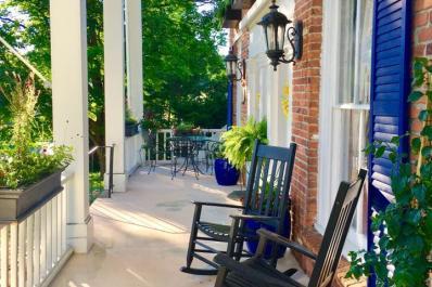Lorraine's Tearoom Porch