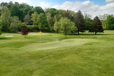 7th hole at Wallkill Golf Club