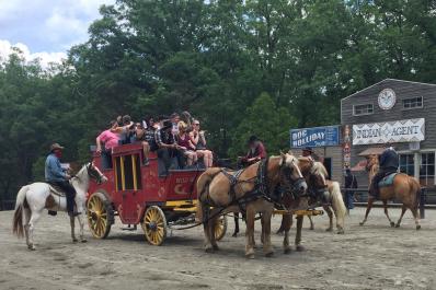 Wild West City Stagecoach