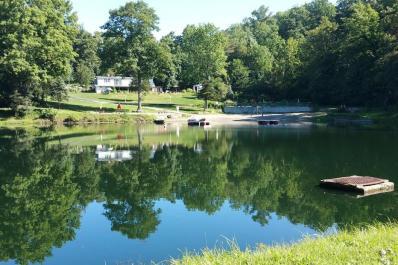 Woodland Trails Lake Scene