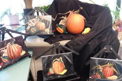 JACCS ART Pumpkin Paintings