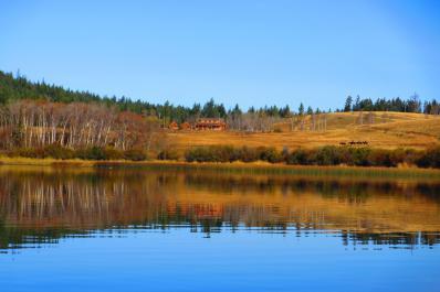 Campbell Lake and Horseback Riding