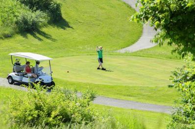 Minerals Golf Club Cart
