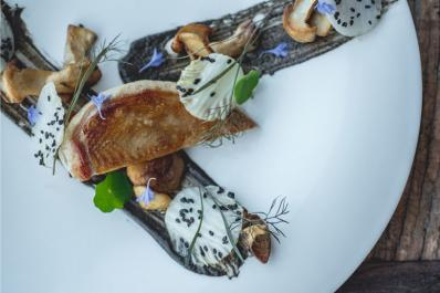 Restaurant Latour Plate