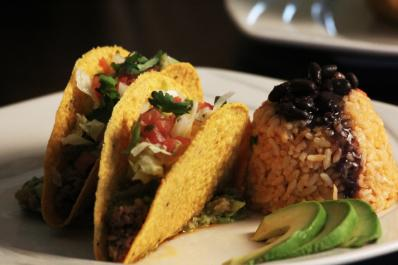 Riviera Maya Taco Plate