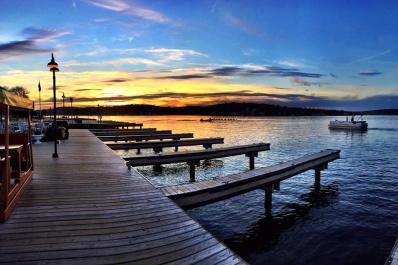 The Windlass Sunrise on Water