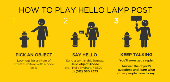 Hello Lamp Post - How to Play