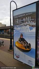 2017 Winter Co/Op - Transit - NJT 3-Sheet Posters - Fernwood Resort
