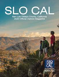 2020 SLO CAL Visitors Magazine Cover
