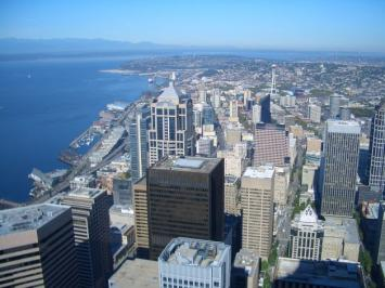 Best City Views in Seattle Columbia Tower