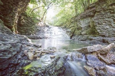 Indian Run Falls Photo