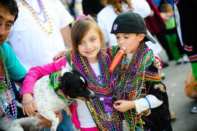 Mardi Gras Kids