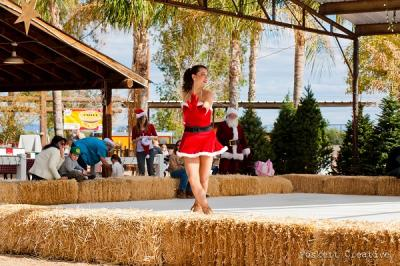 Schnepf Farms Winter Wonderland Ice Skater Christmas Holiday Event