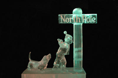 Christmas In Ice - North Pole, Alaska
