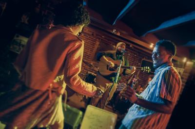 Coastal Mississippi Julep Room dancing