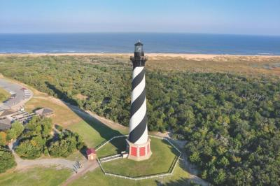 Lighthouse in Outer Banks