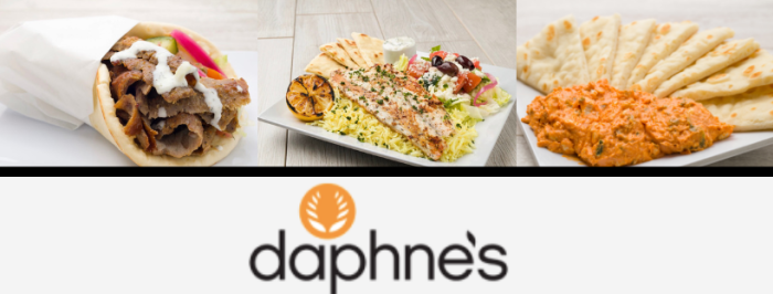 Daphne's Greek Cuisine Food Collage