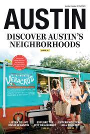 Visit Austin Insider Guide Cover 2019-2020