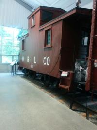 Caboose at Northwest Railway Museum in Snoqualmie Washington