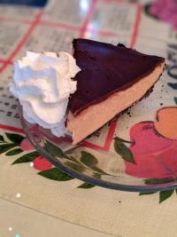 photo of a slice of peanut butter chocolate pie at york street cafe in newport ky