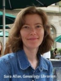 Sara Allen, genealogy librarian