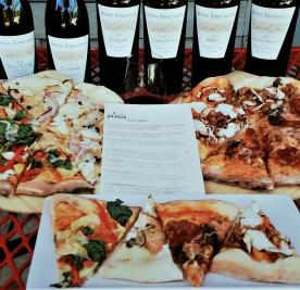 Spann Vineyards Bottles of Wine with Pizza Pairings