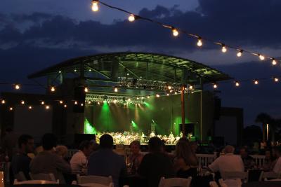 Aaron Bessant Park Amphitheater Panama City Beach Florida