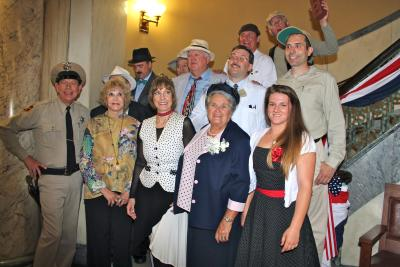 Mayberry dignitaries at Mayberry in the Midwest Meet & Greet