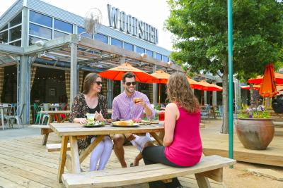 Woodshed Smokehouse Patio