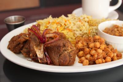 Somali restaurant, Hoyo's Kitchen