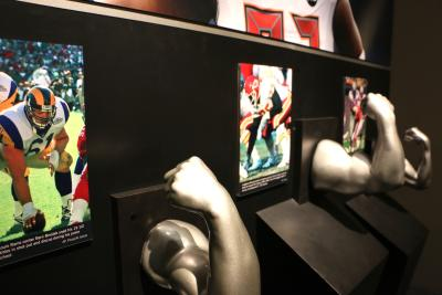 Gridiron Glory Display