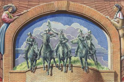National Cowgirl Mural