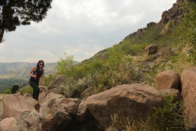 Hiking Golden Cliffs Preserve