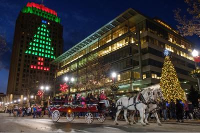 Downtown Allentown Holiday Tree Lighting