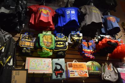 Superhero Kids Merchandise at Box Lunch