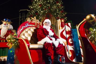 Sundance Square Santa