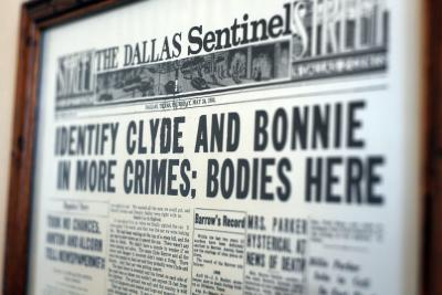 Stockyards Hotel Bonnie & Clyde article