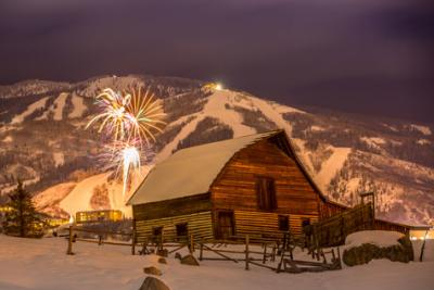 Barn Fireworks Steamboat Resort