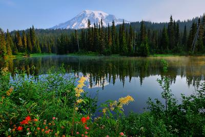 Reflection Lake at Mount Rainier