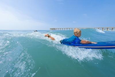 Surfing Kid