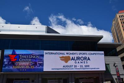 Aurora Games at Times Union Center