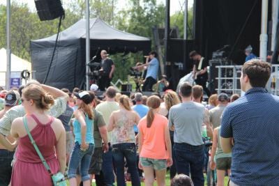 Tulip Festival stage