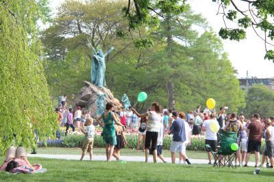 Washington Park people