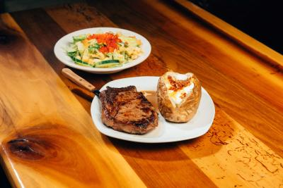Boomtown Kitchen Steaks